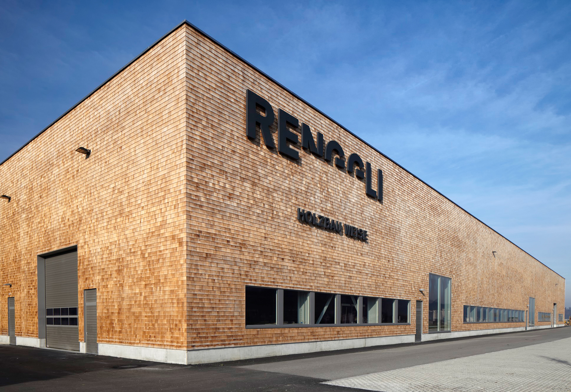 Timber construction partner and production facility Renggli AG, Schötz/Lucerne
